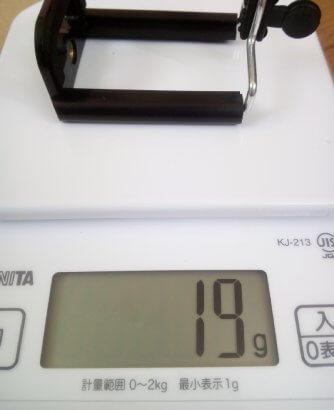 「スマホスタンド三脚タイプ」スマホ固定ホルダー重さ19g
