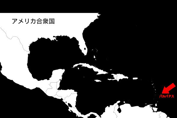 地図:バルバドスの位置