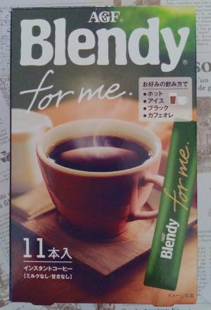 AGF ブレンディ フォーミー インスタントコーヒー 11本入