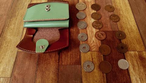 小さいふ ペケーニョと小銭