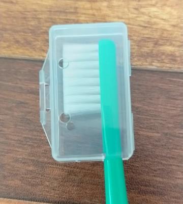 ダイソーの歯ブラシカバーをタフト24に装着
